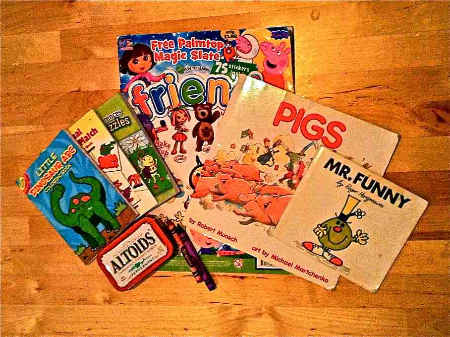 Story books and magazines